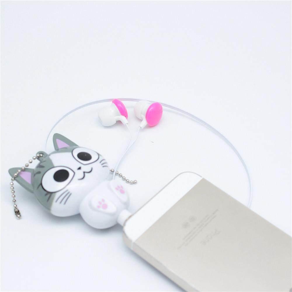 1 pc Panda Cat Cartoon Retractable In-ear Earphones for Mobile Phone  Computer