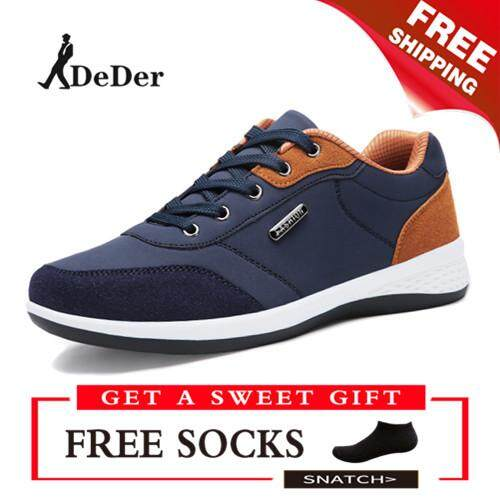 DeDer Men Light Running Shoes Breathable Outdoor Sport Shoes Fashion  Sneakers Lelaki Berjalan Kasut 7840784f11