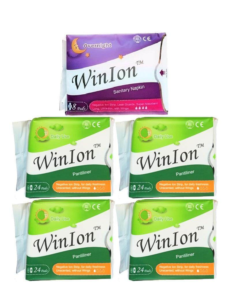 Buy Sanitary Napkins At Best Prices Lazada Malaysia Free Shipping Avail Pad Pantiliner Winion Napkin Mix Packs 1 Night Use 4 104 Pads