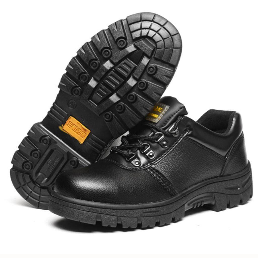 Miracle Shining Safety Work Boots Protective Shoes Steel Toe Water Resistant Slip on Boot US 8.0