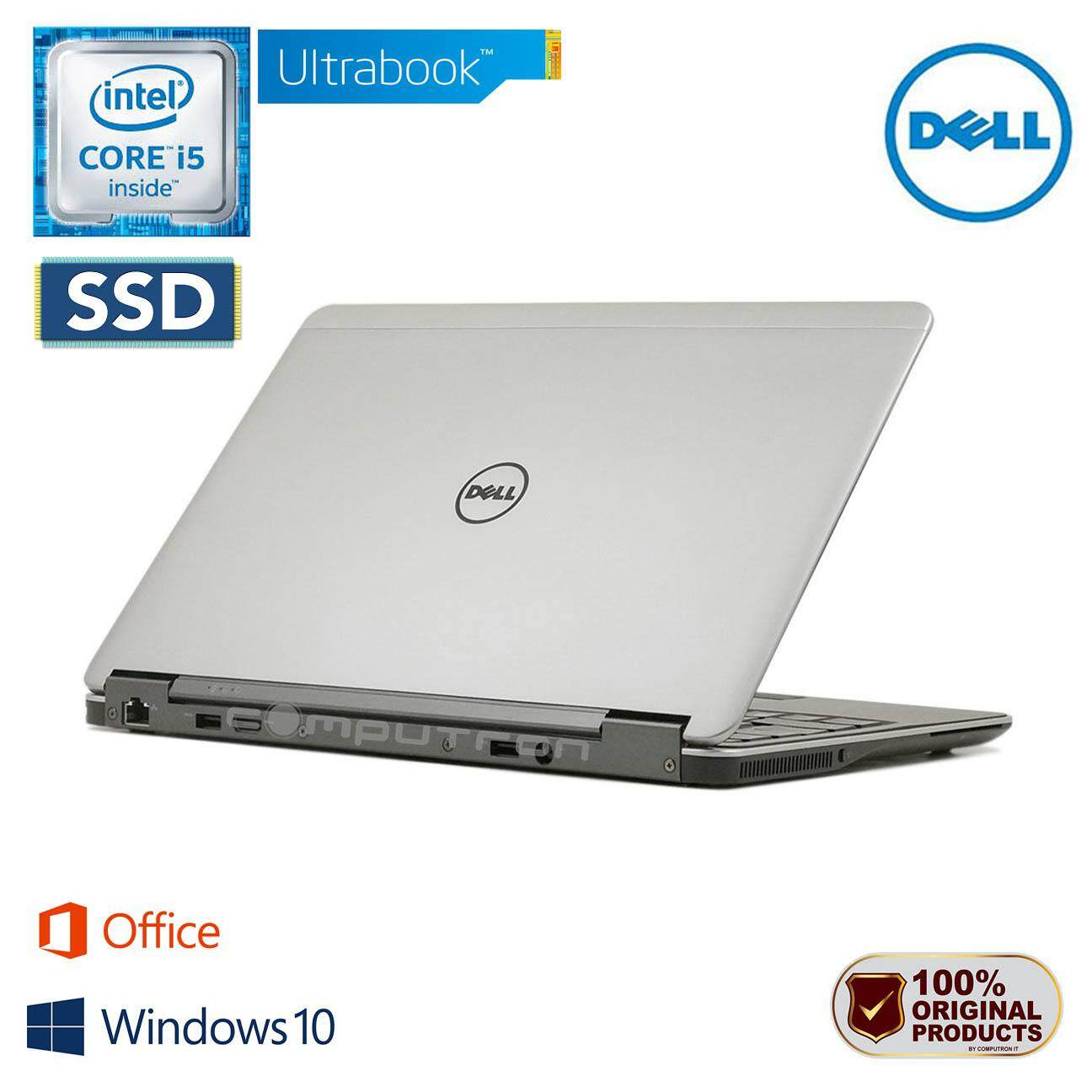 DELL LATITUDE E7240 ULTRABOOK [CORE I5-4300U/ 8GB RAM/ 256GB SSD] BOX PACK 1 YEAR WARRANTY Malaysia
