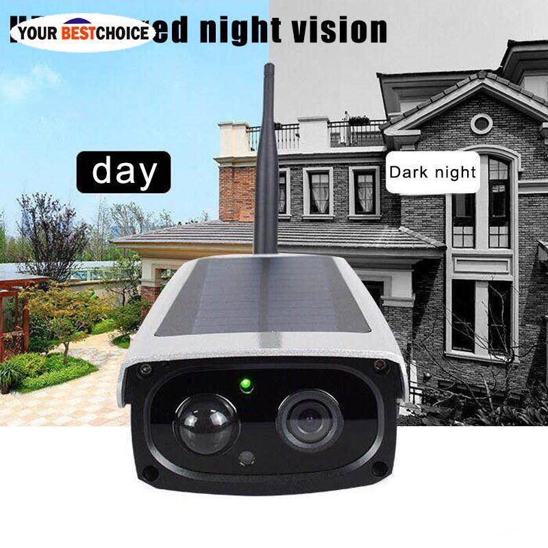 Ybc Hd 1080p 2mp Solar Power Ip Camera Outdoor Water-Proof Low Consumption Camera By Your Bestchoice.
