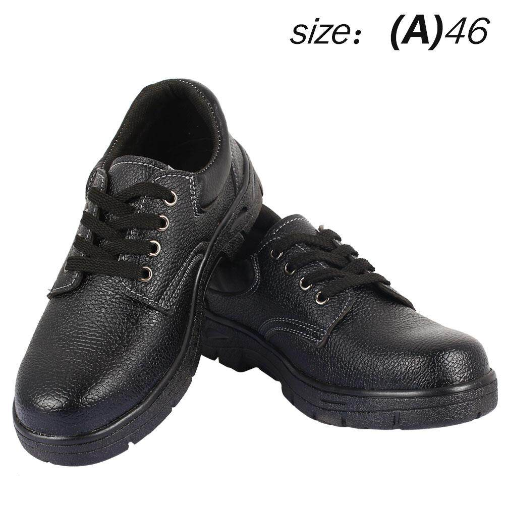 Safety MenS Boots Safety Work Shoes Shielded Black Leather Architectural Water Resistant 39