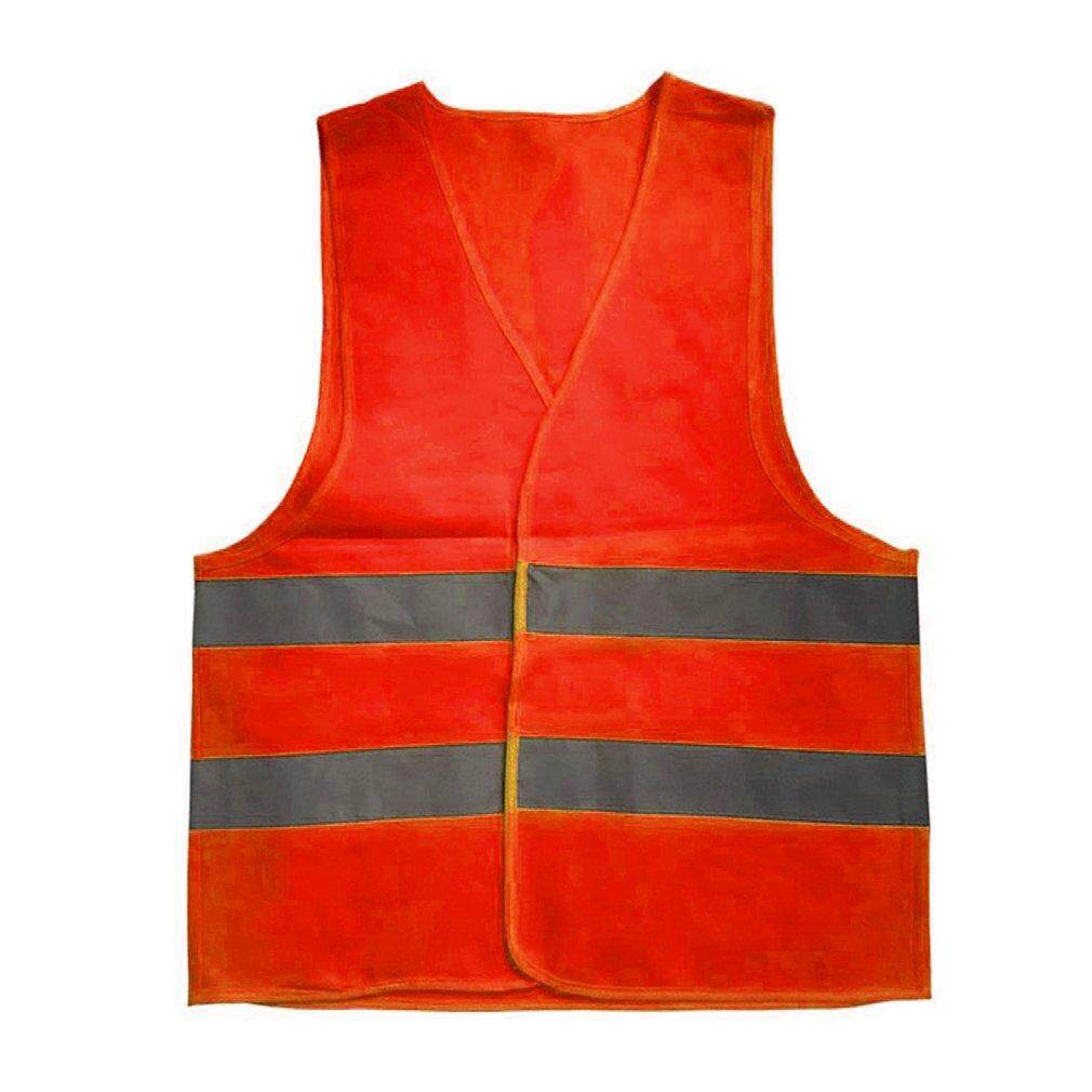 ELEC Reflective Warning Vest Working Clothes High Visibility Protective Vest orange