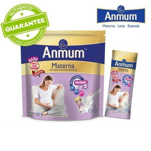Anmum Materna Plain No Added Sugar - 7s X 36gm By Lazada Retail Anmum.