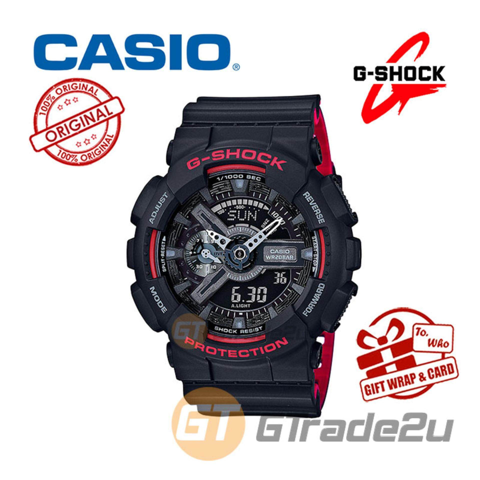 Casio G Shock Watches With Best Price At Lazada Malaysia Gma S120mf 7a2 Ga 110hr 1a Digital Analog Watch Bi Color