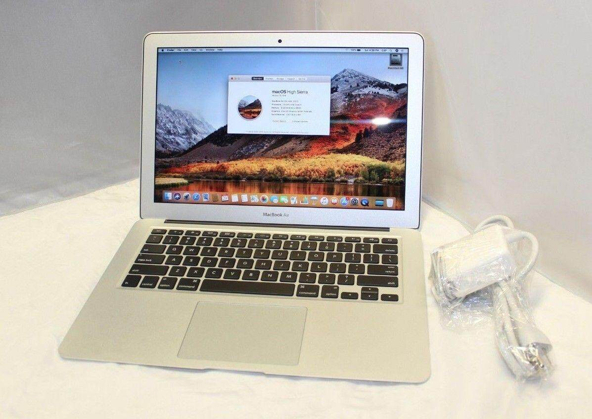 Apple Mac Book Air 13.3 Laptop 256GB MQD42LL/A i5 1.8GHz 2017 Malaysia
