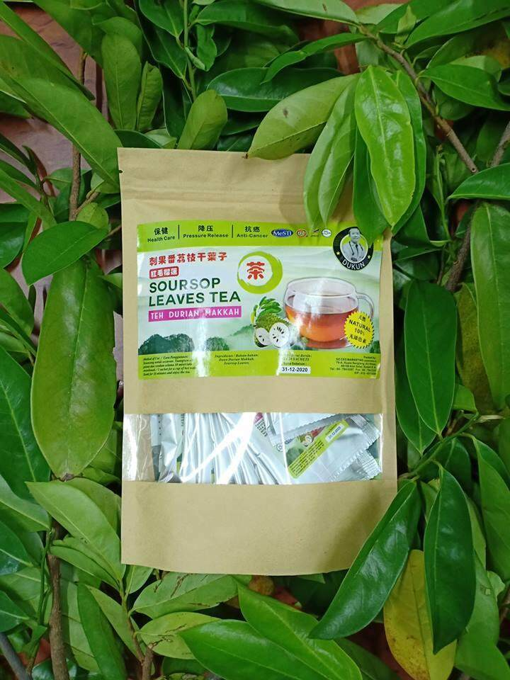 Soursop Leaves Tea 20sac 红毛榴莲茶 By Kedai Ubat Fu Kang.