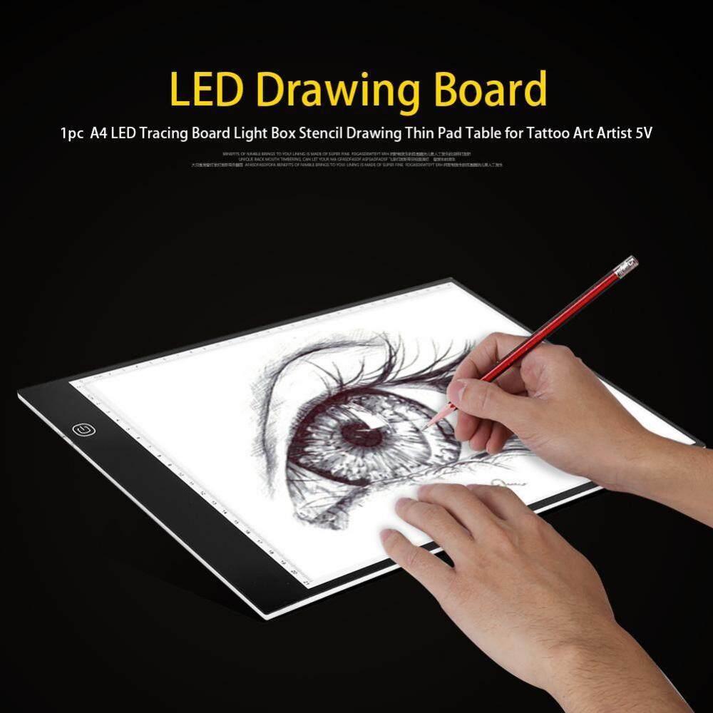 A4 LED Tracing Board Light Box Stencil Drawing Thin Pad Table for Tattoo Art Artist