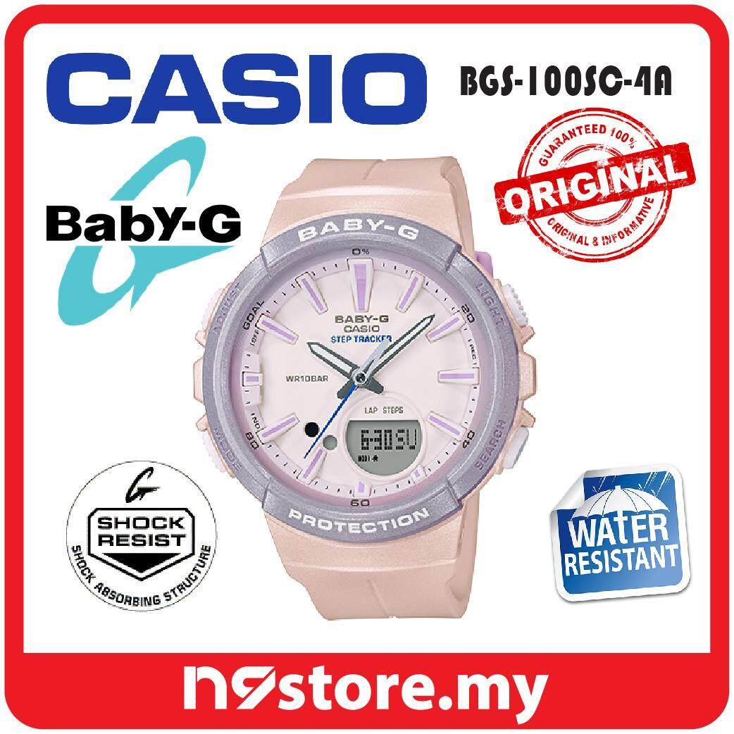 Casio Baby G Watches Price In Malaysia Best Jam Tangan Shock Gd 400 3dr Bgs 100sc 4a Analog Digital Ladies Step Tracker Neobrite Watch