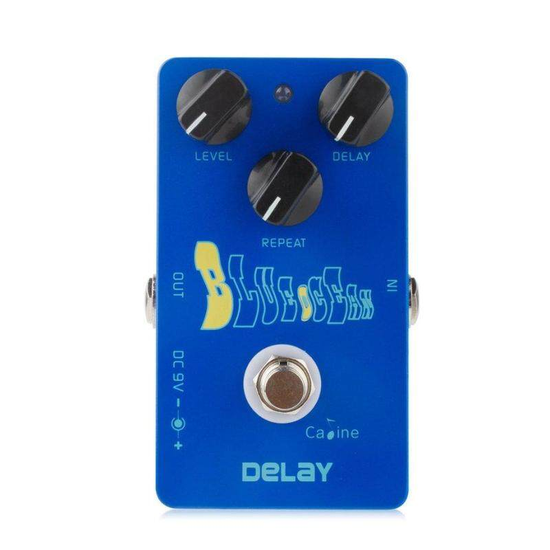 Caline CP-19 Metal Guitar Pedal Electric Guitar Time Space Digital Delay Pedal Malaysia