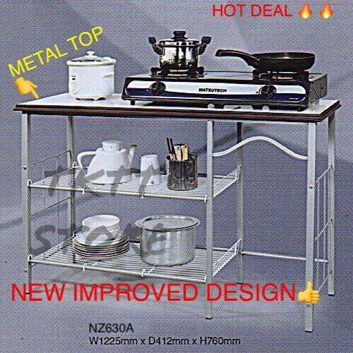Tktt 3v Metal Stove Rack Gas Table Kitchen