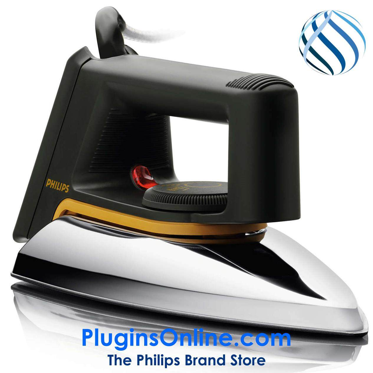 Philips Hd1172/01 Classic Dry Iron With Pilot Lamp (hd1172 ) By Philips Brand Store - Plugins.