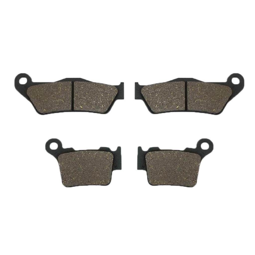 Miracle Shining Front & Rear Brake Pads Set For Ktm 125/200/250/300 Exc Exc125 By Miracle Shining.