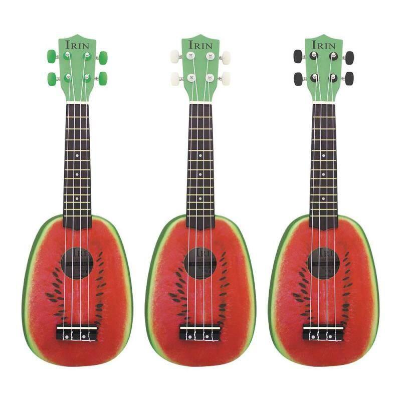 Supermall 21 Inch 12 Fret 4 String Basswood Ukulele Electric Acoustic Guitar Watermelon Style Ukelele for Musical Instrument Lover Musical Instrument Accs Malaysia
