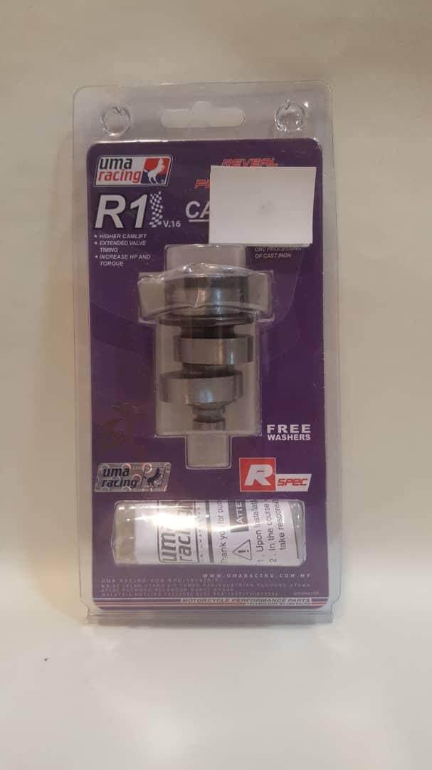 UMA RACING • YAMAHA LC135/Y15ZR/FZ150 (R1 High Cam) RACING CAMSHAFT