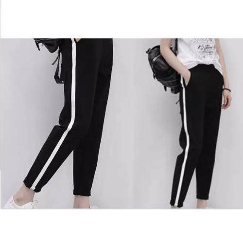 3503738debb5 Women Loose High Waist Long Pants Trousers sport pants loose pants