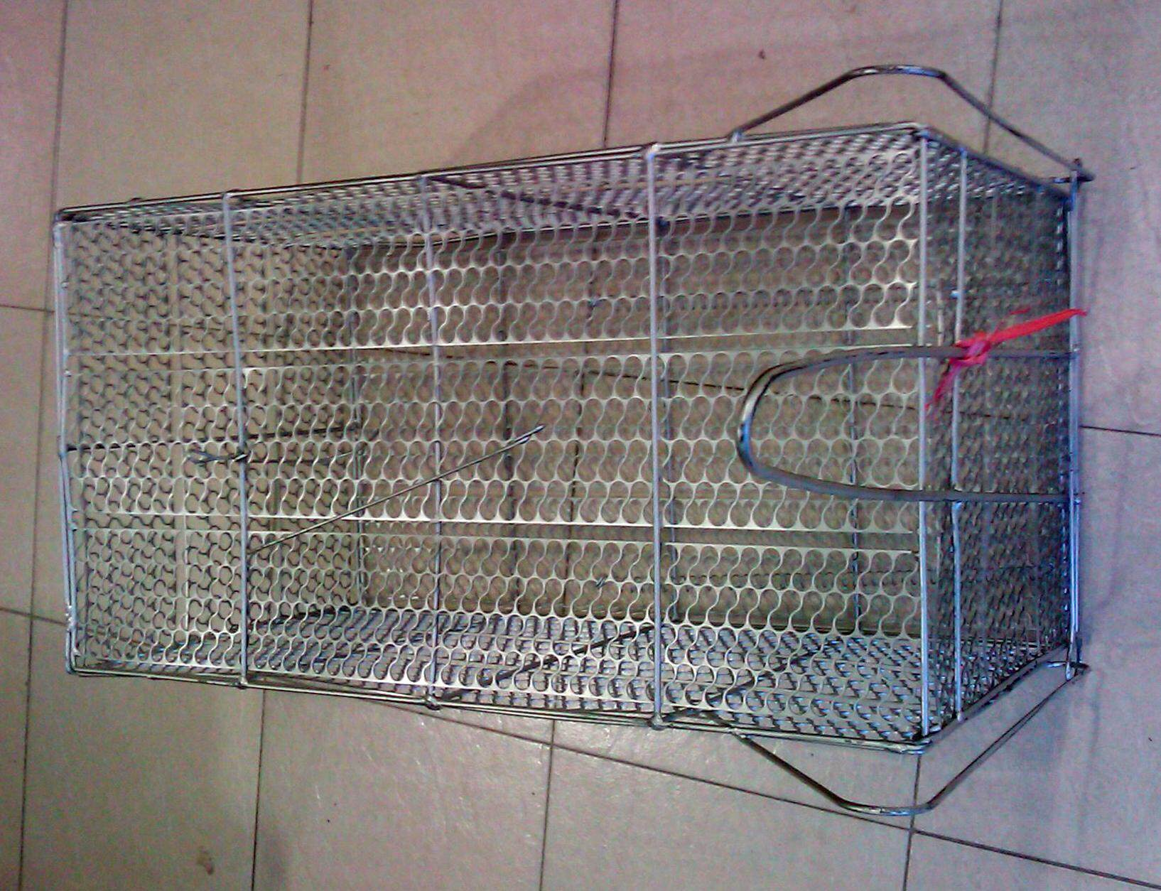 Pest Control Animal Cage Case Catcher Trap For Weasel, Musang, Dog, Cat, Monkey