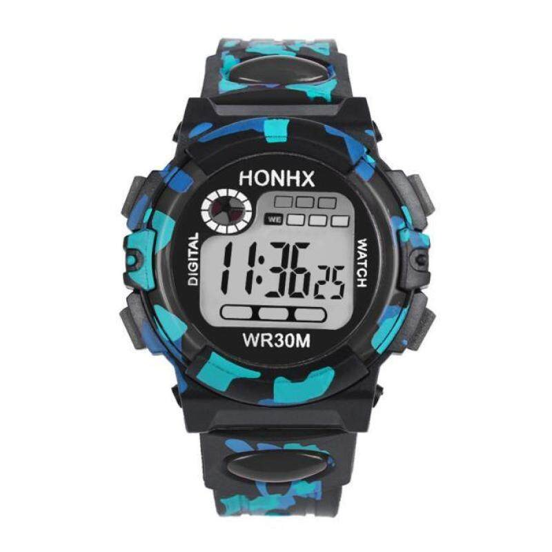 World Deal-Kids Child Boy Girl Multifunction Waterproof Sports Electronic Watch Watches BK Malaysia