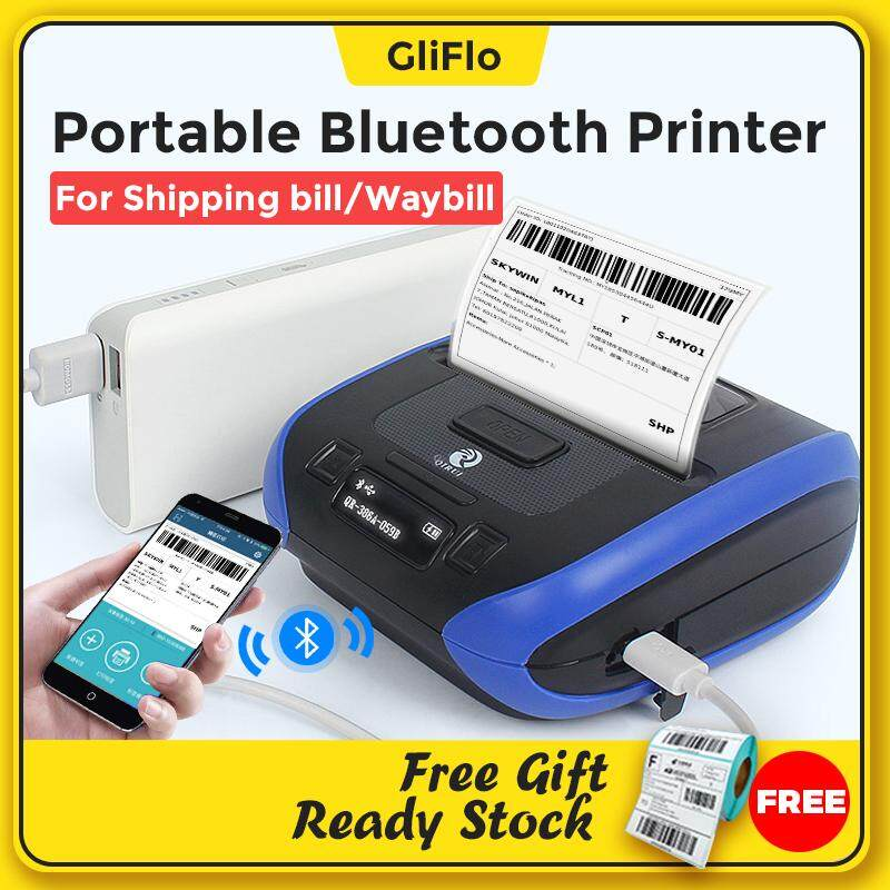Qirui Qr-386a Bluetooth Portable Handheld Printer By Gliflo Store.