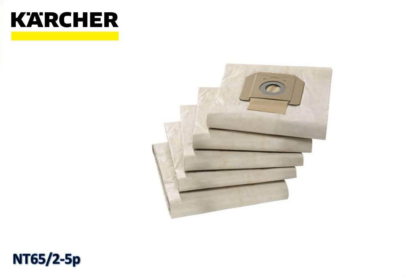 Karcher NT65 3 layer Paper Filter Bag (5-piece) 6.904-285.0