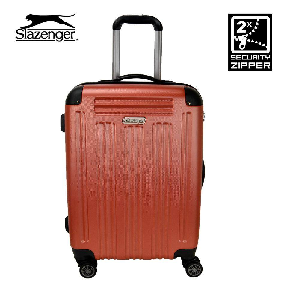 f72e65216c Slazenger SZ2543 22-inch ABS Expandable Hardcase Luggage with Security  Zipper