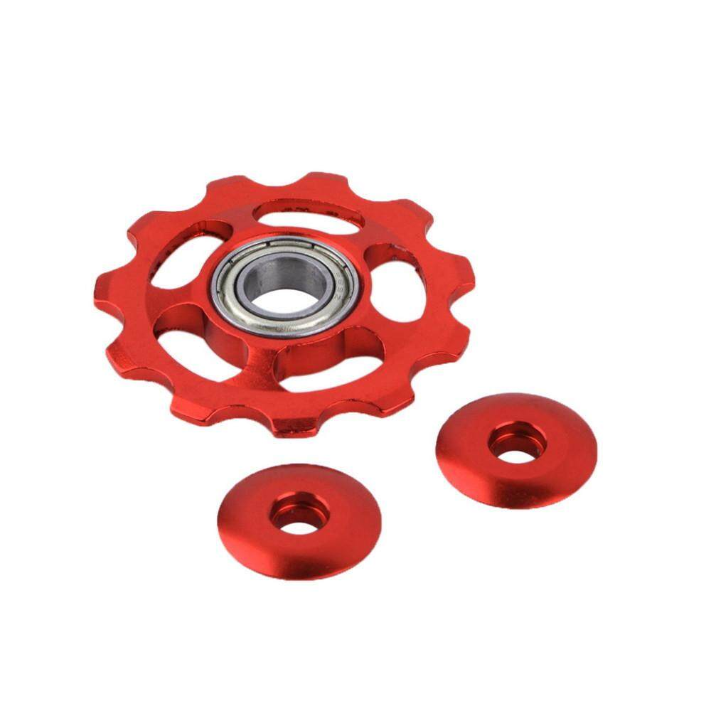 Free Shipping 11 Gear Mountain Bikes Road Bicycle Rear Derailleur Aluminum Alloy Guide Roller By Myositishome.