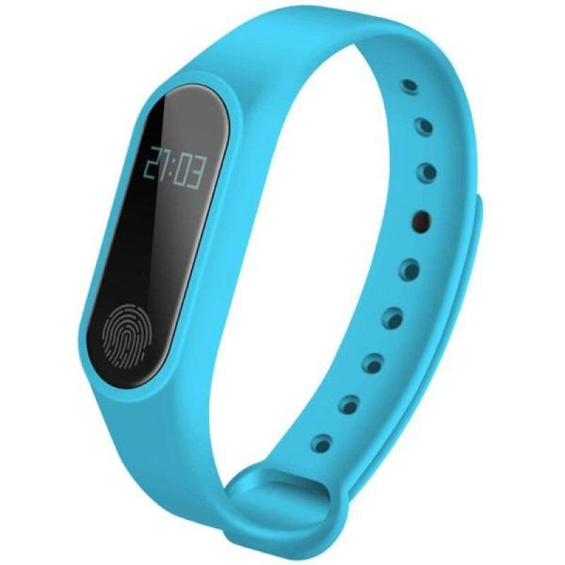 M2 Heart Rate Band with Bluetooth Connectivity Including Mystery Gift ( Blue ) Malaysia
