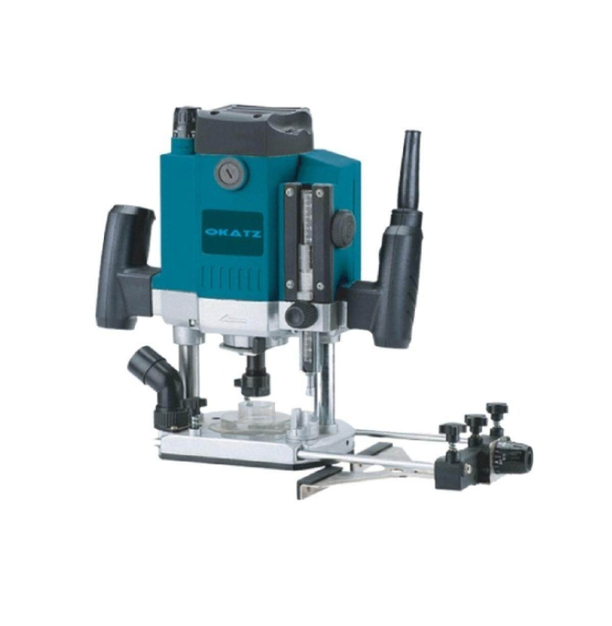 Okatz 1850W 1/2 Wood Plunge Router, Plunge Router