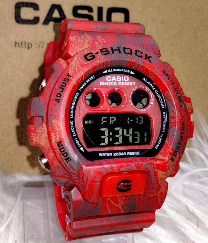 Casio G Shock DW6900 Floral Limited Collection Malaysia