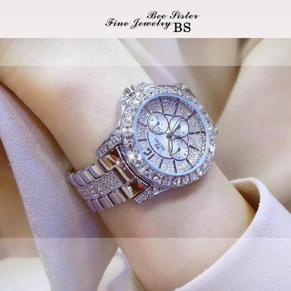 JIMG Bs Beesister Hot Watch Diamond Full Diamond Watches Ladies Watch Luxury Watch - Intl Malaysia