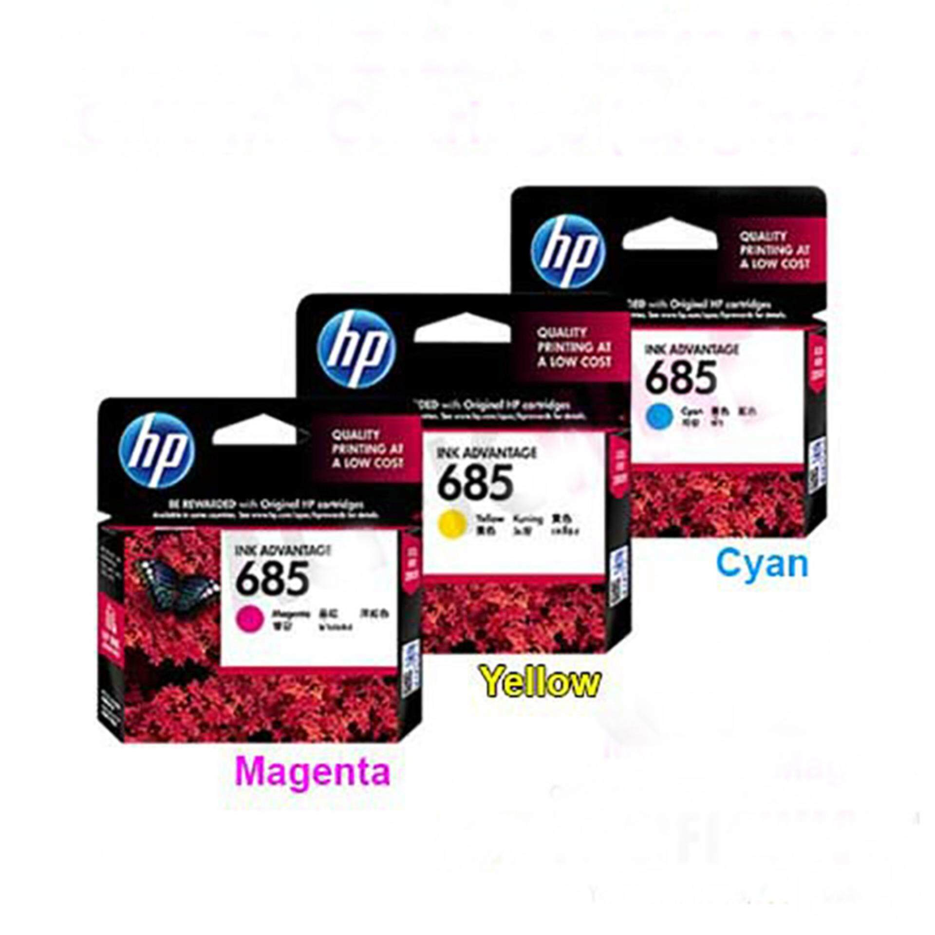 Hewlett Packard Printers Accessories Price In Malaysia Best Tinta Hp 45 Black Original 685 Combo 3 1 Free Ink Cartridge