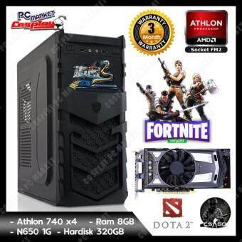 Gaming PC Desktop Fm2 4core 3.2GHz 8GB Ram GTX650 1GD5 (Refurbished)