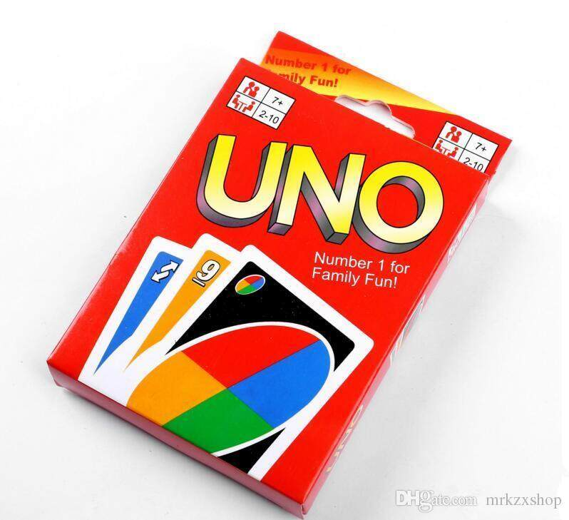 One Pack of 108pcs UNO Playing Card