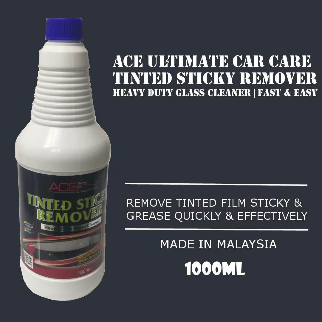 Buy Sell Cheapest Leegoal Ultimate Car Best Quality Product Deals Race Set 9485 Ace Care Tinted Tint Film Sticky Glue Remover Glass Cleaner 1000ml