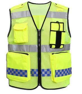 Warnweste Signalweste Taktische Sicherheitsweste Unfallweste Arbeitsschutz Gelb