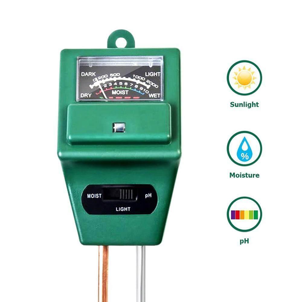 DS-Mart Soil pH Meter, 3 in 1 Soil Tester Moisture Meter Soil Test Kit for Garden, Farm, Lawn, Indoor & Outdoor, Light and PH acidity Tester