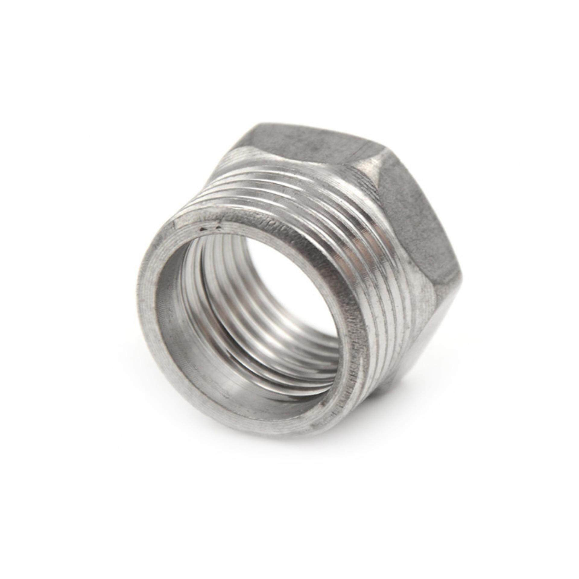 3/4 Male X 1/2 Female Connector Thread Reducer Bushing Pipe Fitting NPT SS 201 Aliname