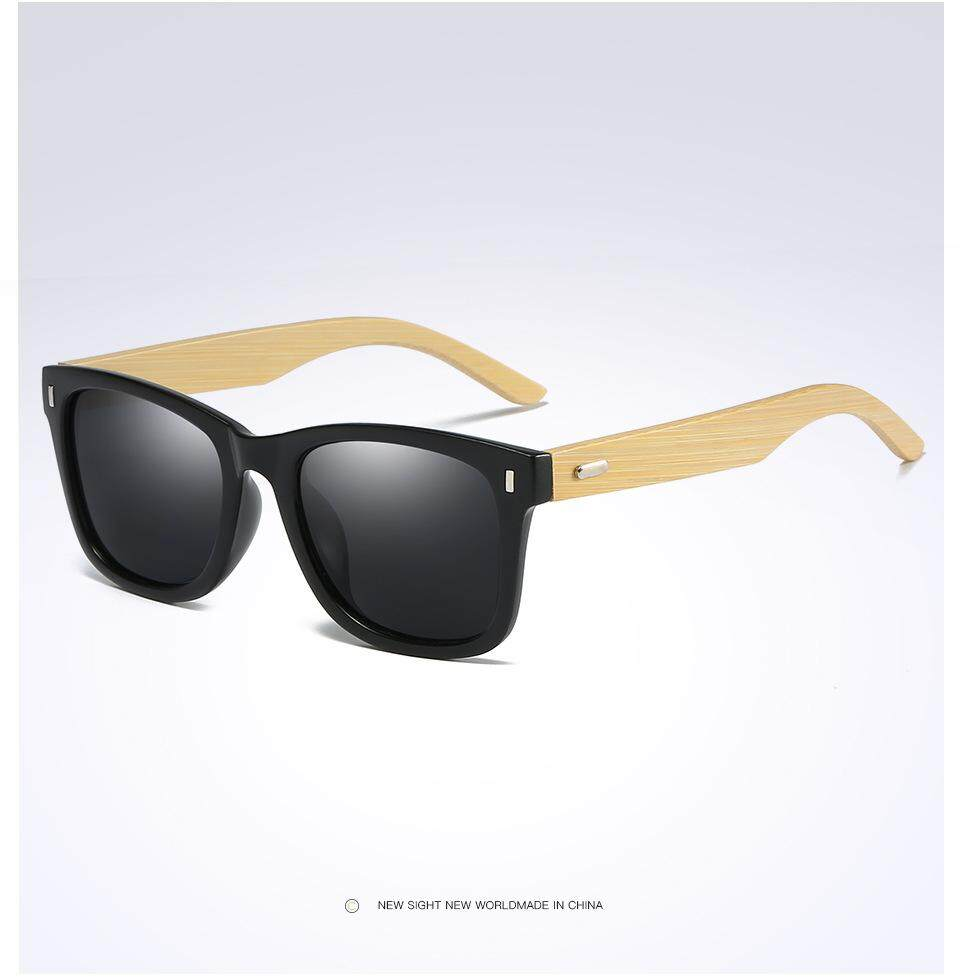 a64ded3921a New fashion Retro women s men s Wooden Polarized Sunglasses UV400  protection Sun Glasses Vintage Eyewear mirror lens