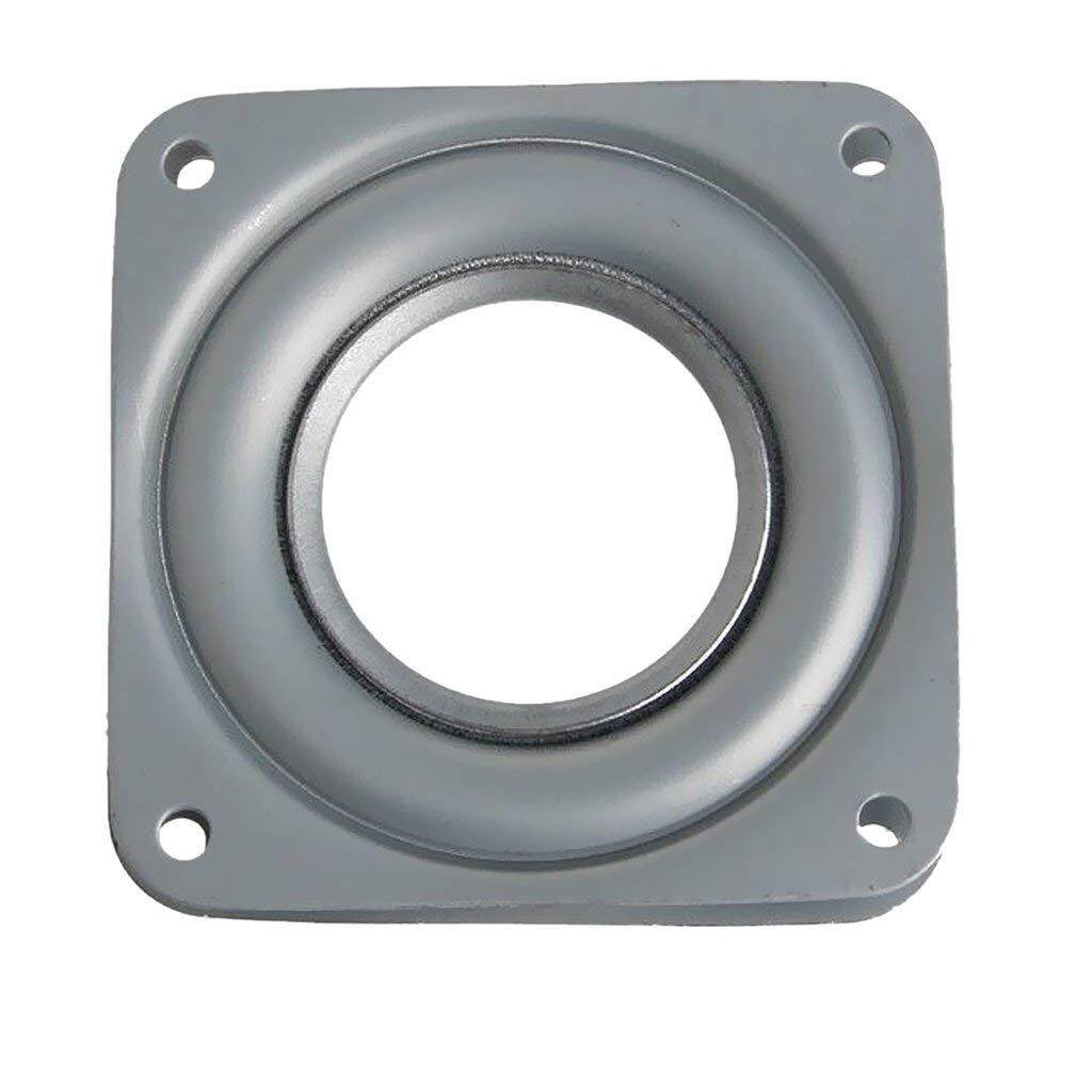 Free Shipping Lazy Susan Ball Bearing Metal Swivel Plate - 72 X 72 X 9 Mm By Ralleya.