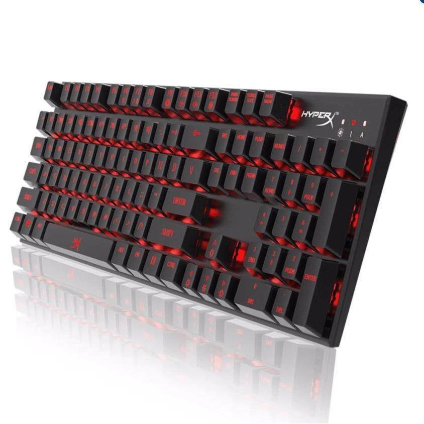 HYPERX ALLOY FPS MECHANICAL GAMING KEYBOARD (HX-KB1RD1-NA/A3) CHERRY MX RED Malaysia