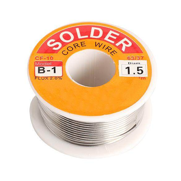 YBC 1.5mm Tin Lead Melt Rosin Core Solder Wire Roll for Electrical Solderding