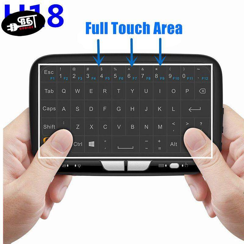 YBC Portable 2.4G Mini Wireless Keyboard Touchpad Air Mouse for Android Google Smart TV PC Malaysia