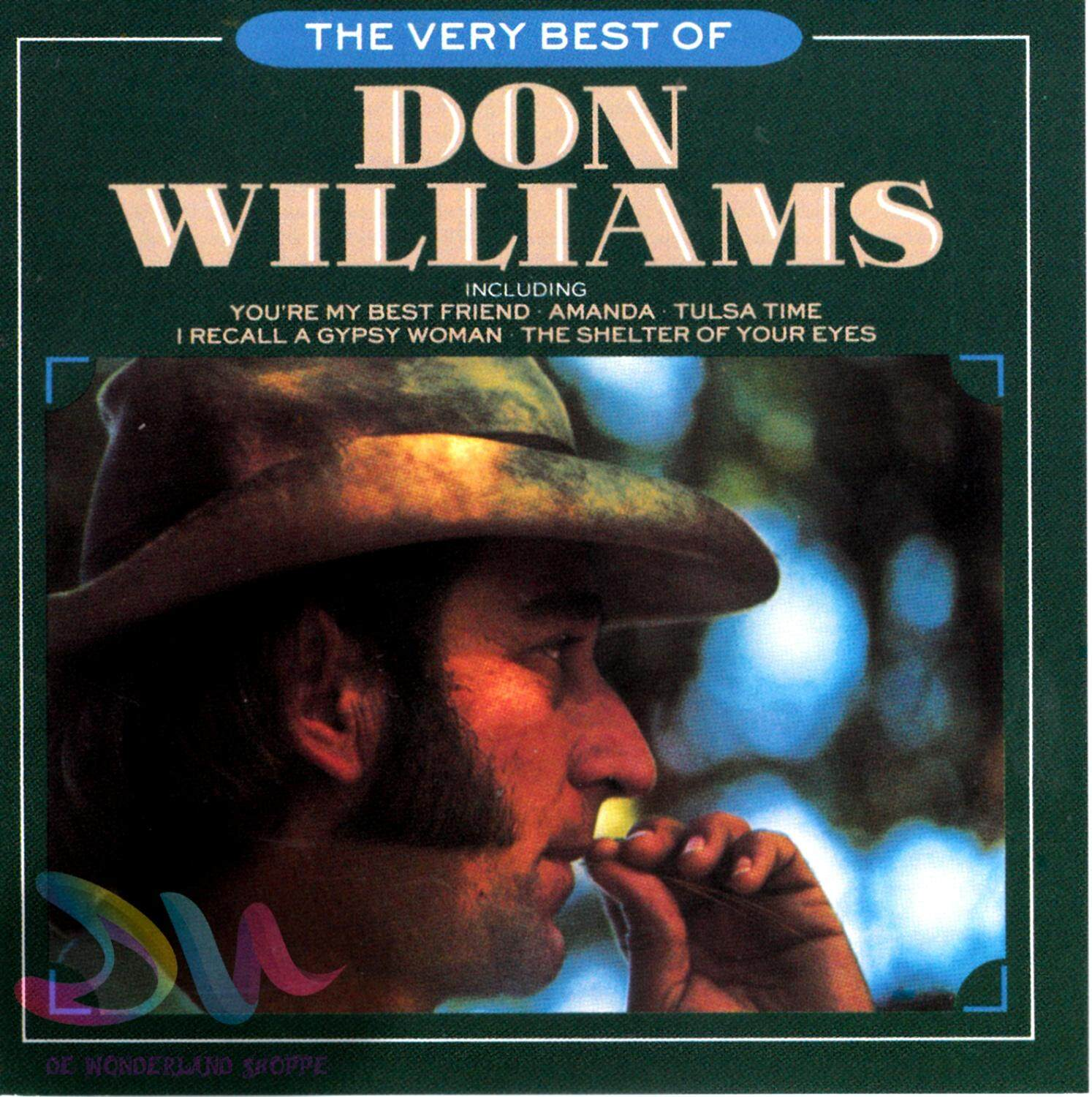 Don Williams - The Very Best Of Don Williams - Import Cd Song By De Wonderland Shoppe.