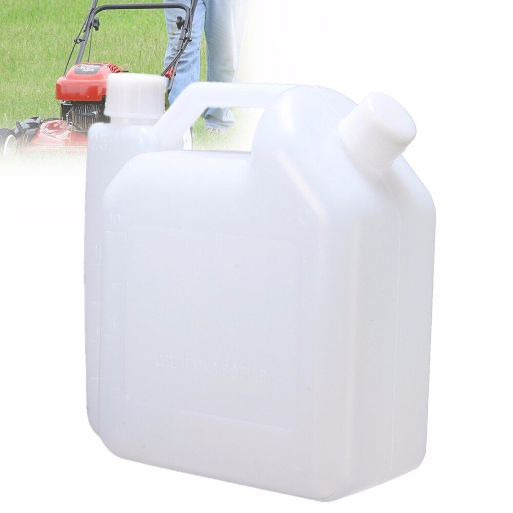 1 5 Litre 2-Stroke Oil Petrol Fuel Mixing Bottle Tank For Trimmer Chainsaw  1:25