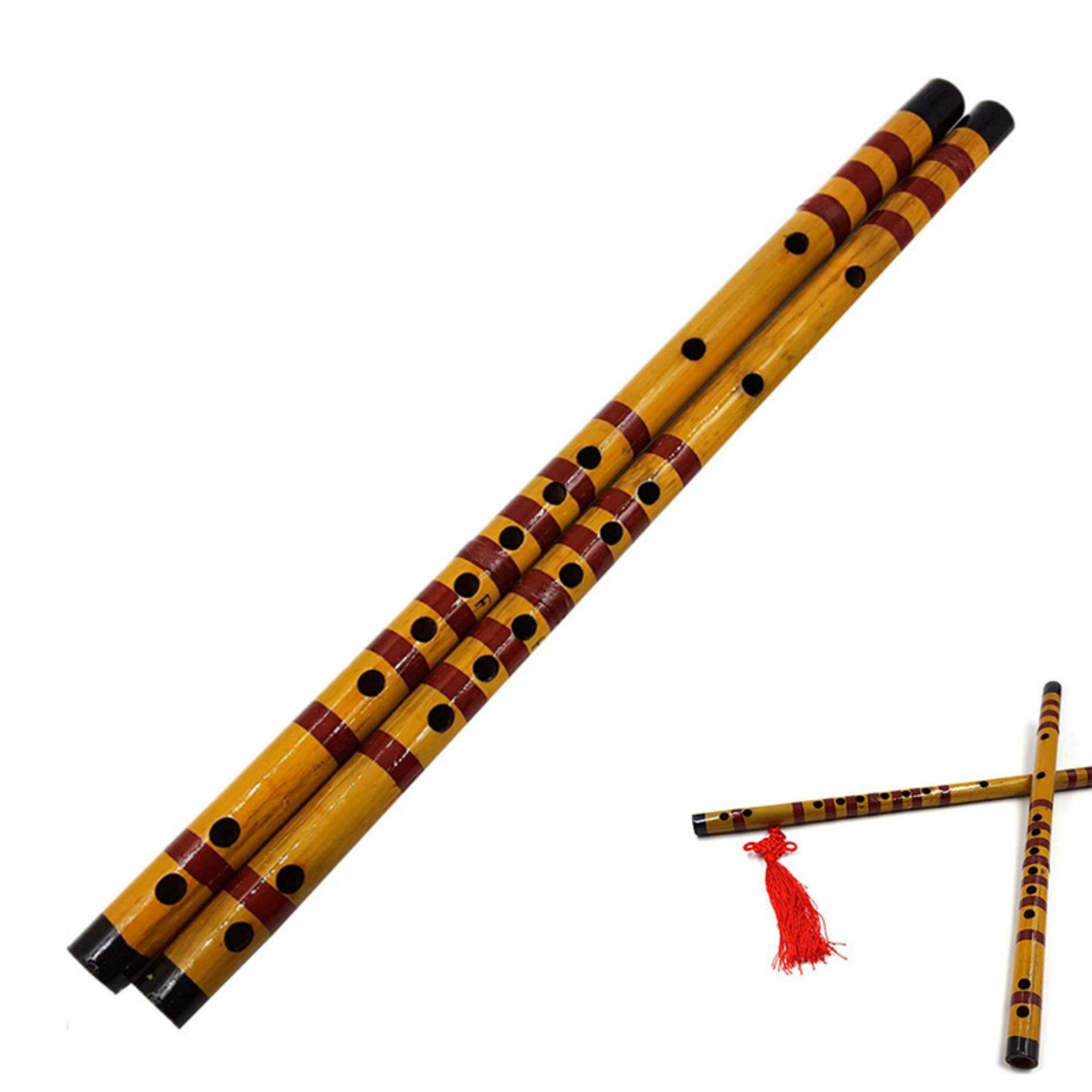 Graceful Vintage 1997 Traditional 37cm Long Chinese Dizi Bamboo Flute Music  Instrument B