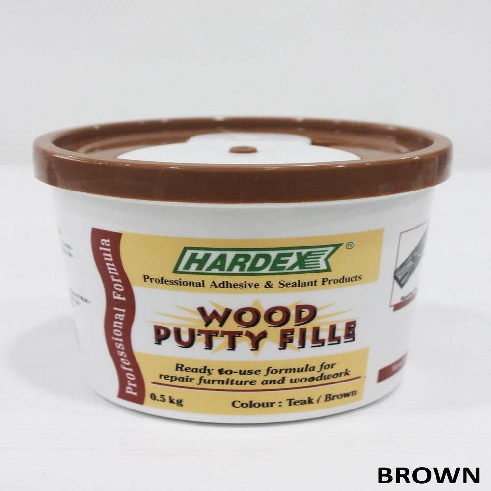 Hardex Wood Fille (1.5kg)- Brown
