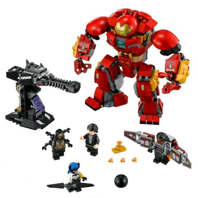 Iron Man Hulkbuster Building Blocks Kits Bricks Marvel Avengers Infinity War Super Heroes Toys By Marget.