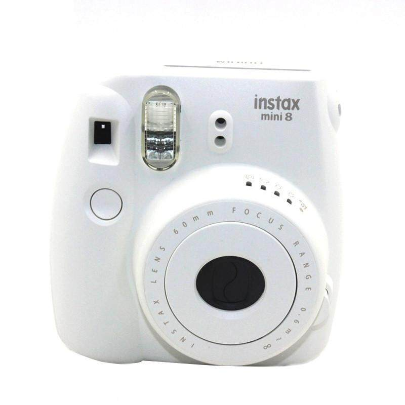 Free Shipping Camera/video Bags Protective Case Case For Polaroid Mini 8 1pcs Casual Classic Noctilucent(white) By Benefitwen.
