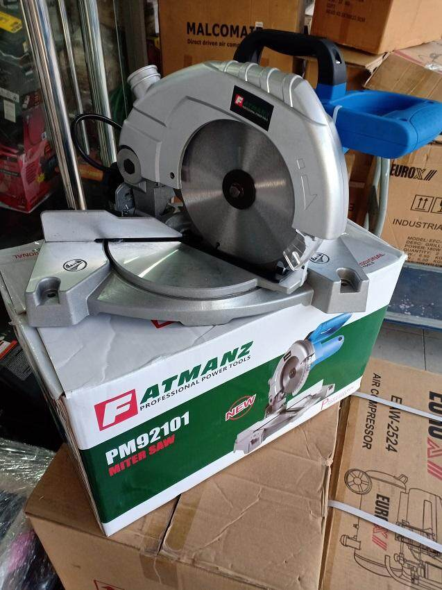 Fatmanz PM92101 1200W 4500RPM Professional Miter Saw With Steel Blade & Accessories